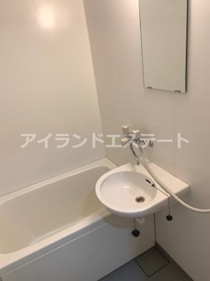 【浴室】チェリーハイツ ペット可 2人入居可 事務所相談可