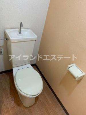 【トイレ】チェリーハイツ ペット可 2人入居可 事務所相談可