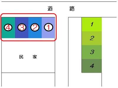 【区画図】星野駐車場