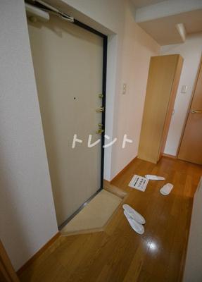 【玄関】プレールドゥーク東新宿Ⅱ