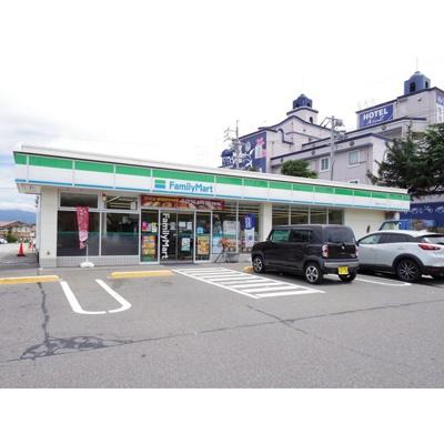コンビニ「ファミリーマート塩尻北インター店まで1035m」