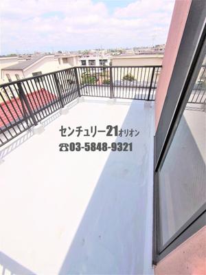 【バルコニー】カーサ躑躅ヶ丘(ツツジガオカ)-4F