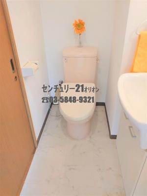 【トイレ】カーサ躑躅ヶ丘(ツツジガオカ)-4F