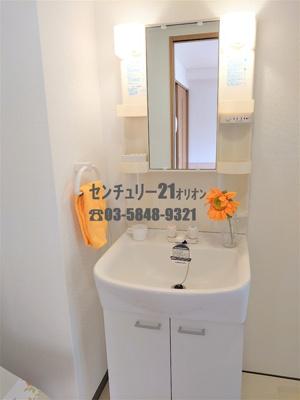 【洗面所】カーサ躑躅ヶ丘(ツツジガオカ)-4F
