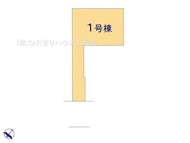 【区画図】上尾市浅間台 新築一戸建て リーブルガーデン 01