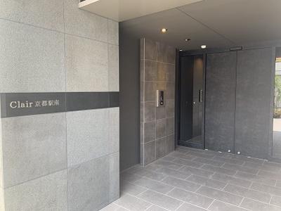 【エントランス】Clair京都駅南