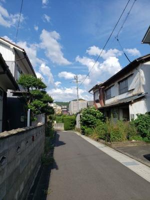 【前面道路含む現地写真】鳥取市岩倉土地