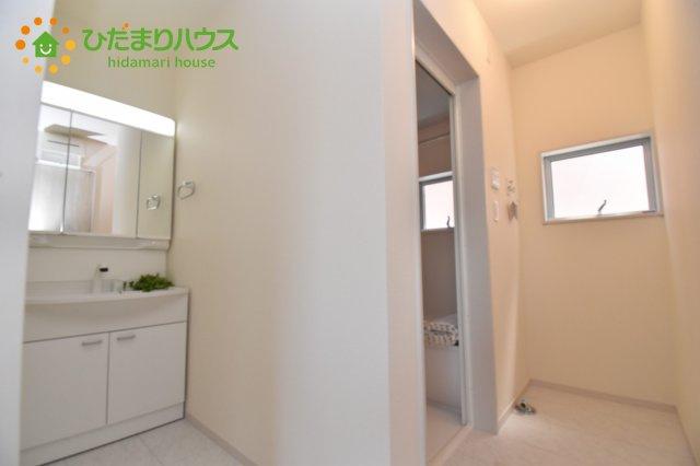【洗面所】上尾市浅間台 新築一戸建て リーブルガーデン 01