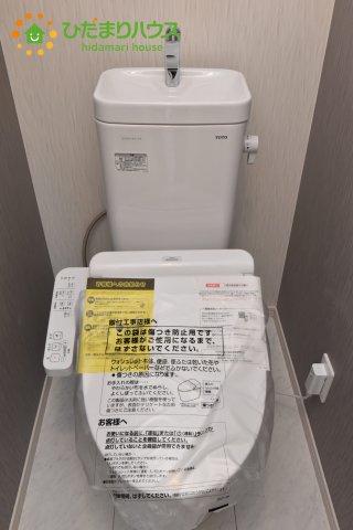 【トイレ】上尾市浅間台 新築一戸建て リーブルガーデン 01