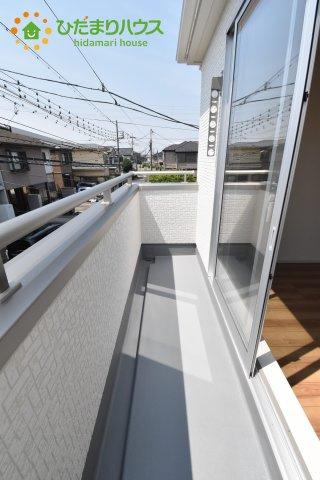 【バルコニー】上尾市浅間台 新築一戸建て リーブルガーデン 01