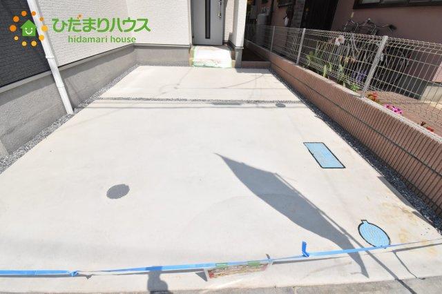 【駐車場】上尾市浅間台 新築一戸建て リーブルガーデン 01