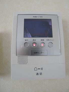録画機能付きTVモニターホン