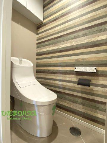 温水洗浄便座トイレを完備しております。