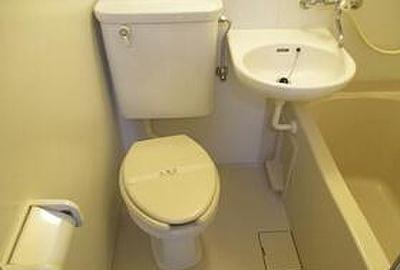 【浴室】コーポ祐天寺(コーポユウテンジ)