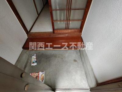 【玄関】北条5丁目貸家