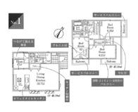 国分寺市内藤2丁目 全2棟 1号棟 仲介手数料無料の画像
