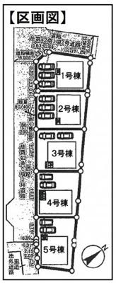 【区画図】駅徒歩11分●閑静な住宅地に限定5区画●宅配BOXあり●クレイドルガーデン大津市雄琴第18