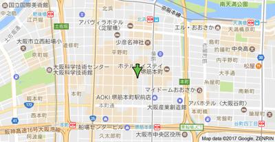 【地図】セレニテ本町エコート