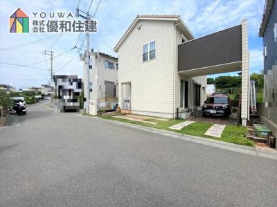 【前面道路含む現地写真】神戸市西区伊川谷町長坂 築浅戸建