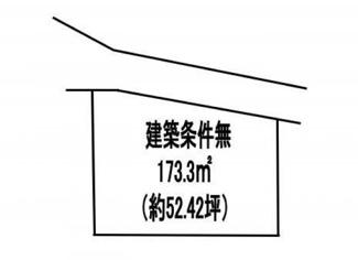 【土地図】野洲市高木 売土地