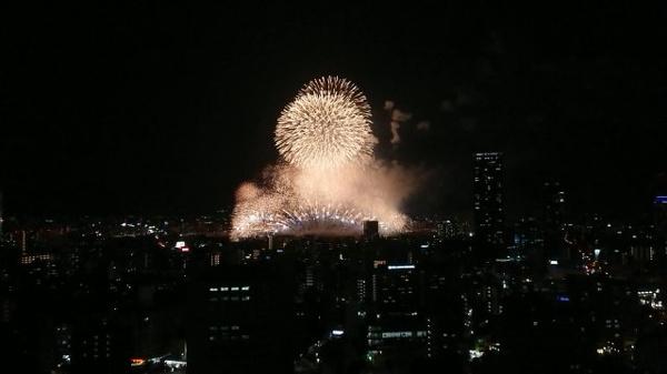 【物件からの展望】27階部分のため花火が綺麗にご覧いただけます♪