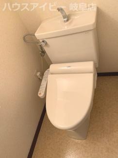 【トイレ】ライオンズマンション柳ケ瀬 1002号室 10階部分につき眺望良好!オートロック完備!駐車場空きあり