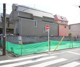 【外観】5.9m公道面の整形地 八雲3丁目建築条件なし売地