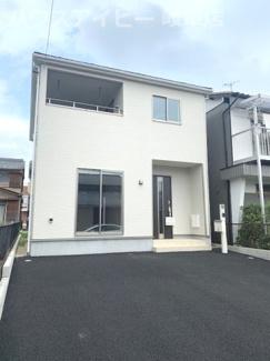 岐阜市川部 新築建売全1棟 お車スペース並列3台可能!広めのインナーバルコニーのあるお家