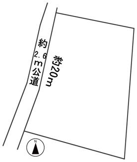 【区画図】56826 関市下有知土地