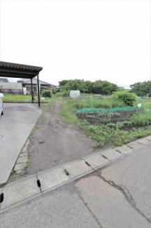 【前面道路含む現地写真】56826 関市下有知土地