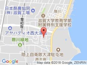 【地図】南滋賀ヒューマンハイツ