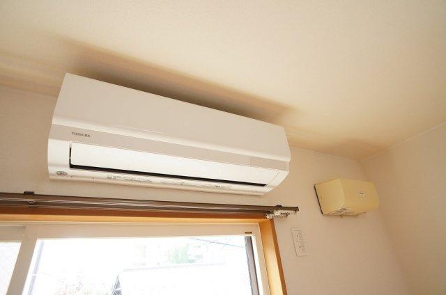 寝室空調設備(新規入替)&24時間換気扇