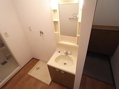 【洗面所】エバグリーンハイツA棟