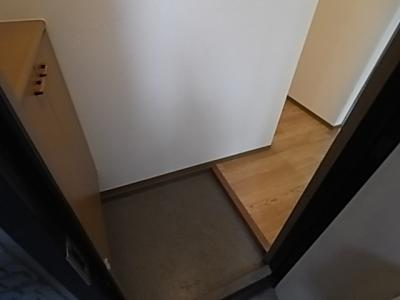 【玄関】エバグリーンハイツA棟