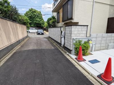 【前面道路含む現地写真】京都市上京区観音寺門前町