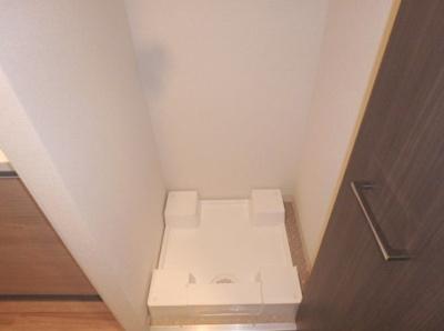 洗濯機室内設置可能です