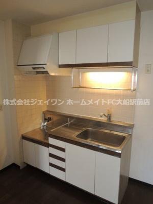 【キッチン】グランエクレール鎌倉