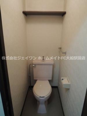 【トイレ】グランエクレール鎌倉