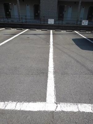 【駐車場】まっちゃハウス Ⅱ C