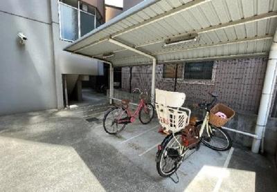 【駐輪場】プレファシオ住吉公園