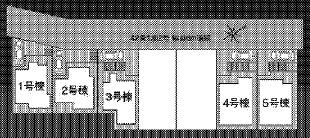【区画図】神戸市垂水区名谷町字櫻ヶ谷 新築戸建 5区画
