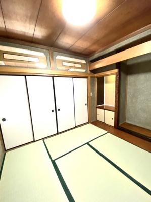 2階和室① ※リフォーム前