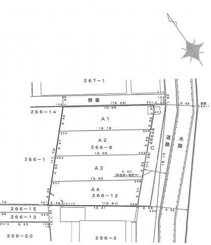 【土地図】山野小学区 建込7,580万円~