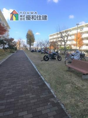 【中庭】新多聞第3住宅 中古マンション