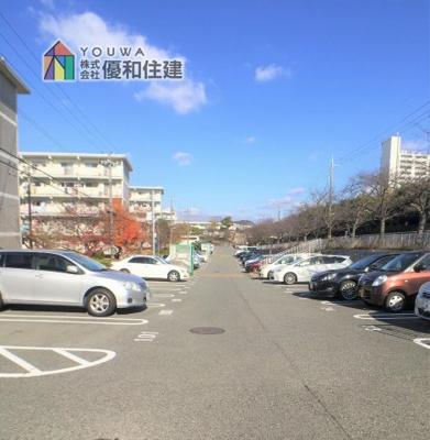 【駐車場】新多聞第3住宅 中古マンション
