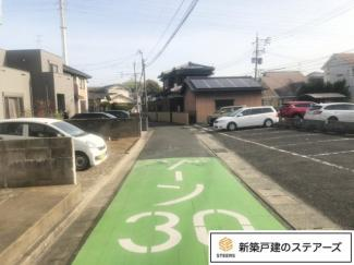 前面道路【東側:幅員4.0m】