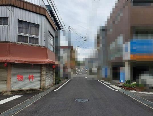 【前面道路含む現地写真】福井扇町