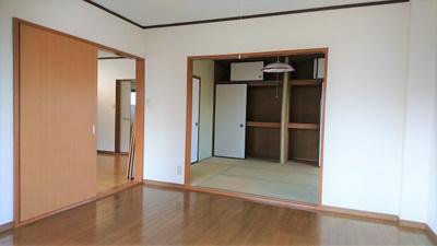 【寝室】森田コーポ