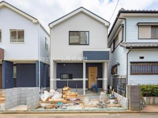 船橋市三山6丁目 新築一戸建 外観施工例です。