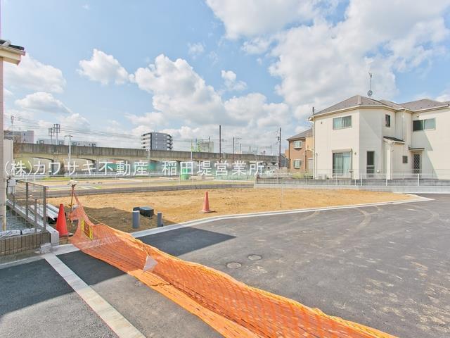 【外観】稲城長沼 ゆったり正味48坪の建築条件なし売地